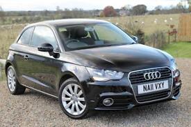 2011/11 Audi A1 1.6TDI Sport, 3dr, Black, 92K, FSH, 2 Private Owners