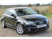 2011/11 Audi A1 1.6TDI Sport, 3dr, Black, 92K, FSH, 2 Private Owners