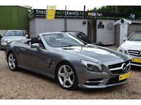 MERCEDES-BENZ SL350 7G AUTO AMG SPORT, PANO ROOF, 15,000 MILES ONLY