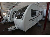 *NEW* Swift Kudos 530 FB 4 Berth Touring Caravan with Fixed Duvalay Bed
