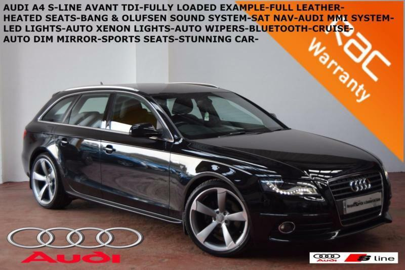 2010 audi a4 avant 2 0tdi 143ps s line full heated. Black Bedroom Furniture Sets. Home Design Ideas