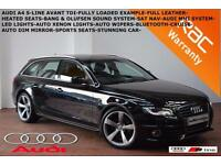 2010 Audi A4 Avant 2.0TDI (143PS) S Line-FULL HEATED LEATHER-SAT NAV-B.TOOTH-