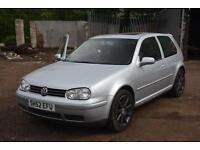 2002 Volkswagen Golf 1.8 T GTI 3dr