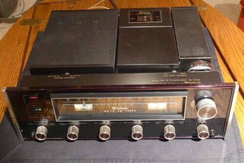 MCIntosh MR-78 FM Tuner