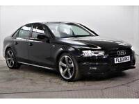 2013 Audi A4 TDI S LINE BLACK EDITION Diesel black Manual