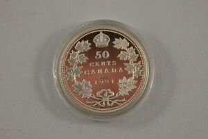 piece de monnaie (fataisie)copy 50 cents 1921