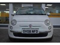2008 08 Fiat 500 1.2 LOUNGE GOOD AND BAD CREDIT CAR FINANCE AVAILABLE