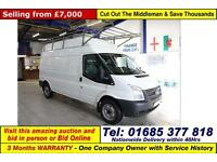 2012 - 62 - FORD TRANSIT T350 2.2TDCI 100PS RWD LWB HI TOP VAN (GUIDE PRICE)