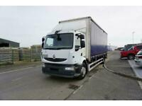 Renault Midlum 240 DXI CURTAINSIDE 18 TON MANUAL GEARBOX WITH TAILLIFT