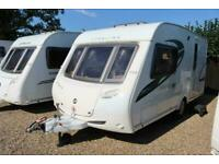 Sterling Eccles 90 2009 2 Berth Caravan + 3/4 Awning + Service History
