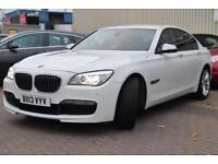 2013 BMW 7 Series 3.0 730d M Sport 4dr (start/stop)