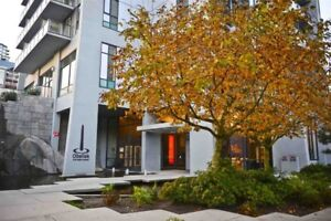 Coquitlam Central fully furnished, high floor, 1 bed & den