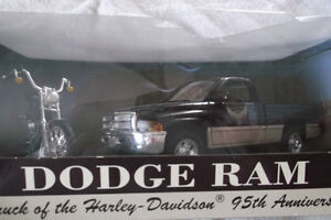 DODGE RAM / DYNA WIDE GLIDE 95th. ANNIVERSARY METAL DIE CAST