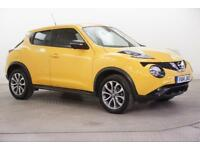 2014 Nissan Juke TEKNA DCI Diesel yellow Manual