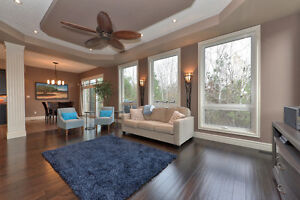 CUSTOM EXECUTIVE PROPERTY BACKING ONTO FORESTED GREEN SPACE! London Ontario image 4