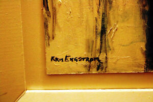 A PAIR OF KRIS ENGSTROM ORIGINALS THE GIRLS & THE GIRLS ARE GONE Moose Jaw Regina Area image 5