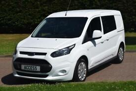 Ford Transit Connect 1.6TDCi ( 95PS ) 230 Double Cab-in-Van L2
