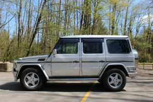 2001 Mercedes-Benz G-Class SUV, Crossover