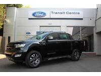 NEW Ford Ranger Wildtrak 3.2TDCi 200PS 4x4 6 Speed in Black + Tow Bar