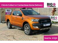 2018 FORD RANGER WILDTRAK TDCI 200 4X4 DOUBLE CAB WITH ROLL'N'LOCK TOP (15132)