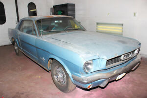 1966 Ford Mustang Coupe Restomod project car