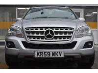 2009 59 Mercedes-Benz ML350 3.0TD GOOD & BAD CREDIT CAR FINANCE AVAILABLE
