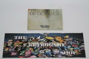 The Battle Of Olympus ( Manual Only ) (Nes Handleidingen)