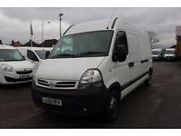 2008 Nissan Interstar 3500 2.5dCi 120HP SE High Roof Van Diesel white Manual