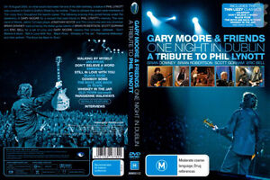 Gary Moore and Fiends Blu-ray