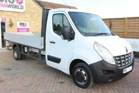 2013 RENAULT MASTER LL35 DRW DCI 125 LWB 14.5 FT ALLOY DROPSIDE RWD DROPSIDE DIE