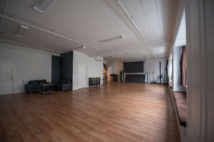 SubLease: Downtown Studio Space