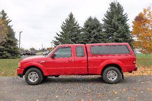 2011 Ford Ranger Sport- 4 Door Club Cab w/ Cap  **Just 131K!!**