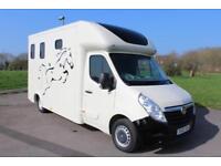 Vauxhall Movano 2.3CDTI 16v 3500 Horsebox 63 Reg Diesel 53,000 Miles