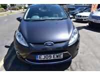 2009 09 FORD FIESTA 1.4 TITANIUM 5 DR GOOD AND BAD CREDIT CAR FINANCE AVAILABLE
