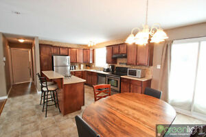 COUNTRY LIVING IN CITY, 3 BEDROOM HOME WITH UNFINISHED BASEMENT.