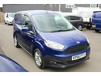 Ford Transit Courier 1.5TDCi 95PS in Blue + A/C - Onsite