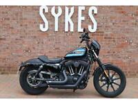 2018 Harley-Davidson XL1200NS Sportster Iron 1200 in Black