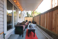 HUGE 23'x7' PATIO IN BEAUTIFUL 2BR WEST END APT NEAR NELSON PARK