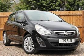 Vauxhall Corsa 1.2i 16v 85ps A/C Excite Manual Petrol 5 Door Hatchback in Black