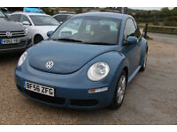 2007 Volkswagen Beetle 1.9TDI MANUAL DIESEL BLUE LOW MILEAGE