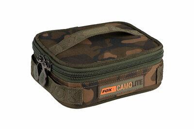 Fox Camolite Compact Rigid Lead & Bits Bag Tackletasche Karpfenangeln NEW