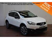 2013 Nissan Qashqai 1.5dCi 360-SAT NAV-HALF LEATHER-PAN ROOF-360 CAMERA-