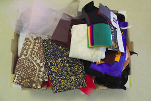 Assorted FABRIC pieces