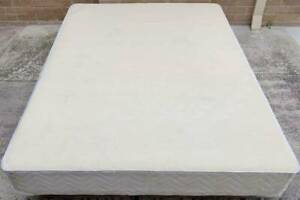 Excellent white queen bed base only for sale #5. Pick up or deliver