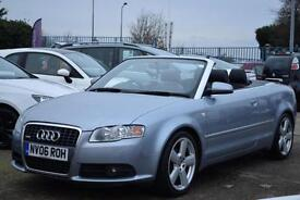 AUDI A4 CABRIOLET 2.0TDI S LINE, BOSE SOUND, NAPPA LEATHER, FULL HISTORY