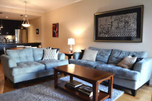 Monthly Rental! Fully furnished 2 bedroom/2 bath condo apartment