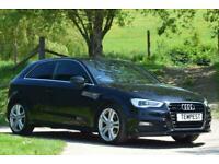 2016 Audi A3 S Line Nav Tdi Quattro Auto Hatchback Diesel Automatic