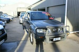 2010 Nissan Navara D40 ST (4x4) Grey 5 Speed Automatic Dual Cab Pick-up Mitchell Gungahlin Area Preview