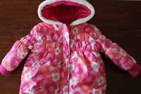 toddler girl size 3 winter jacket George $5