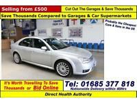 2005 - 55 - FORD MONDEO ST 2.2TDCI 155PS 5 DOOR HATCHBACK (GUIDE PRICE)